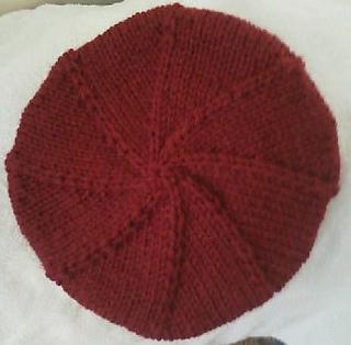 eenvoudige baret