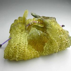 Carol Milne Breien met Glas