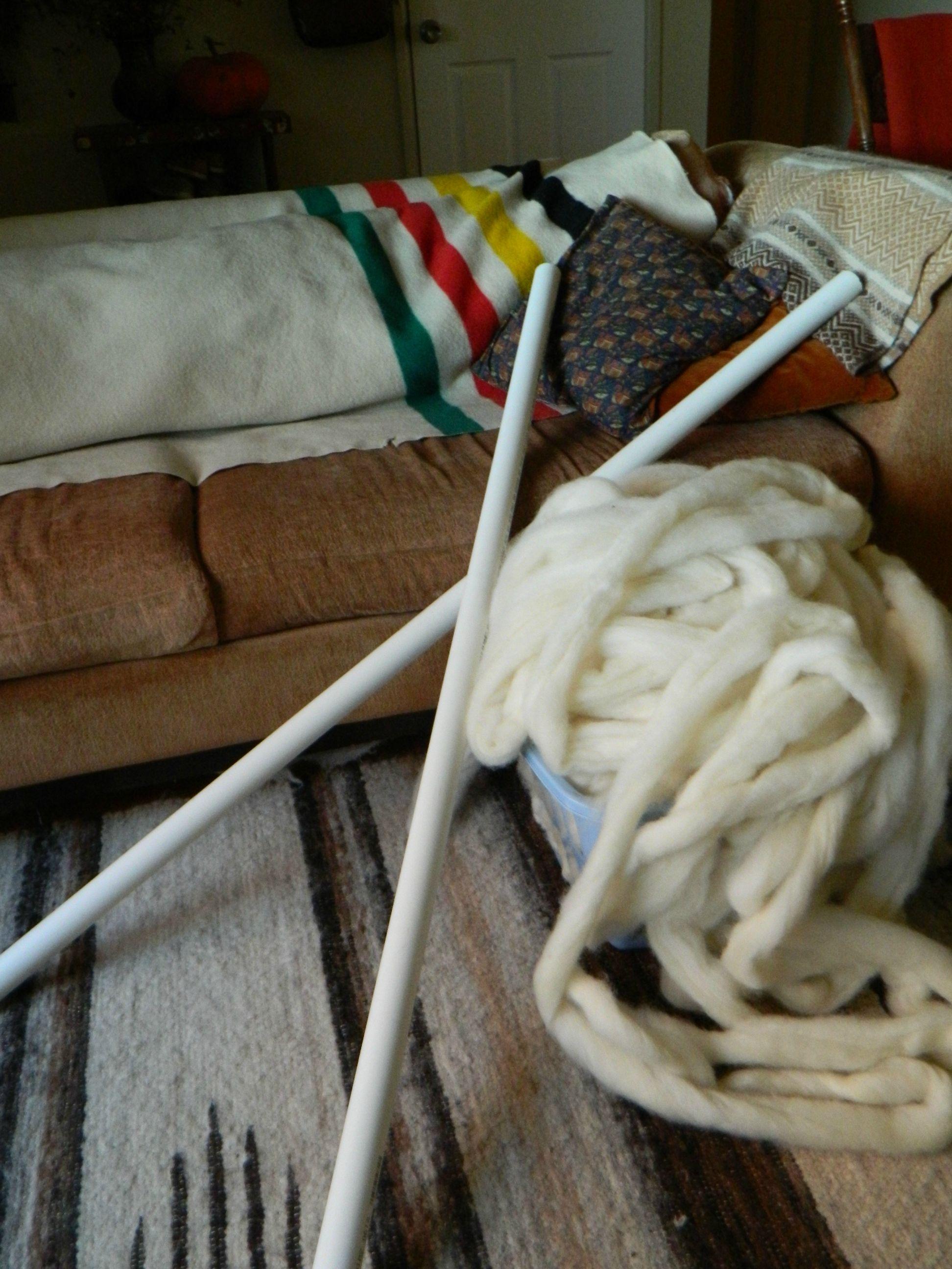 Gigantische Wollen Deken Breien Deel 4