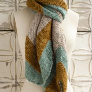 O-Wool Breipatronen: Sjaal
