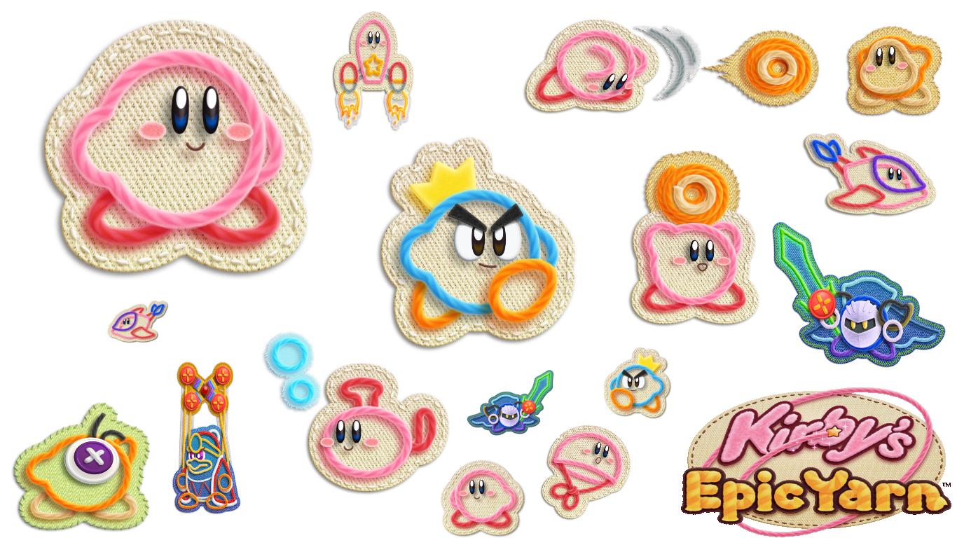 Kirby's Epic Yarn brengt wol naar Nintendo