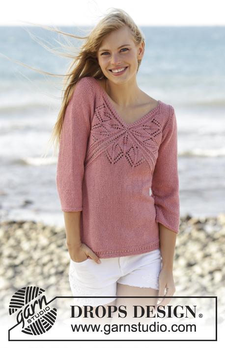 Вязание свитер для девочки 10 лет 115