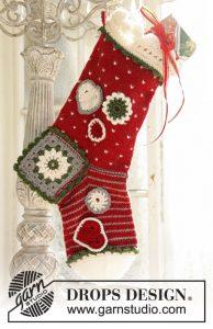 Kerstsok Breien En Haken Voor Cadeaus Ouderwets Breien