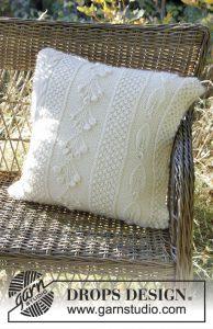 Kussenhoes breien met patronen