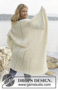 Leuke deken in ribbelsteek breien