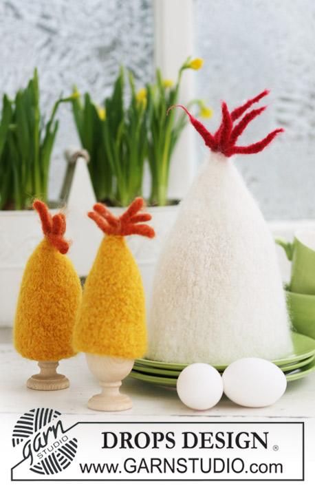 Gevilte Eierwarmers Breien Voor Pasen Ouderwets Breien