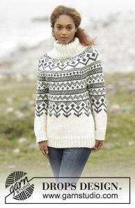 Noorse coltrui breien voor dames