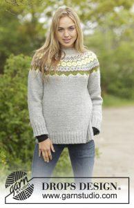 Noorse damestrui breien