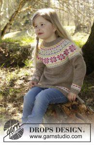 Noorse meisjestrui breien