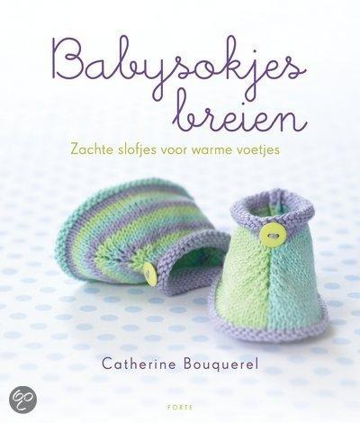 Babysokjes breien van Catherine Bouquerel