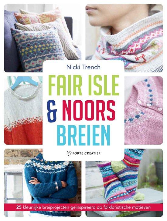 Fair isle en Noors breien