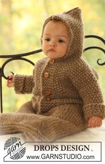 Trappelzak breien voor baby