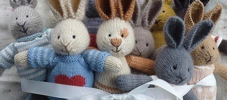Kleine konijntjes breien