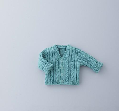 Breipatroon Vest Ouderwets Breien