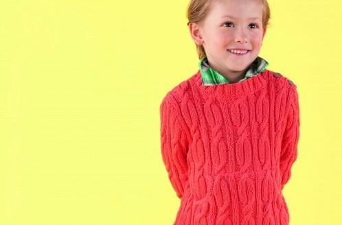 Phildar trui voor jongens breien