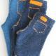 Stoere gebreide jeans